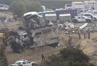 LA mourns victims of train collision