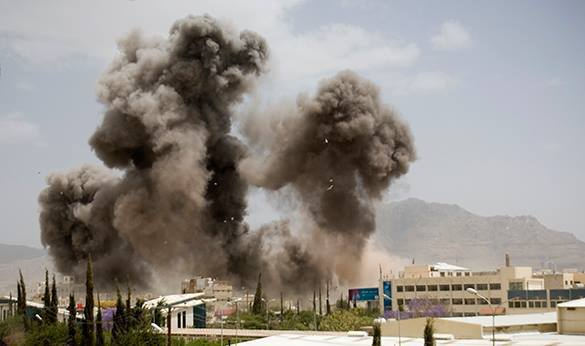Yemeni take over Saudi military posts. Yemen