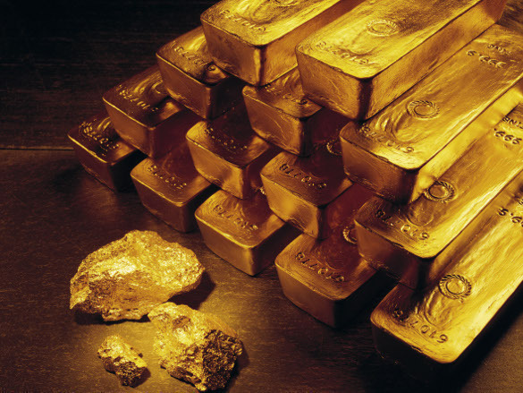 Gold prices significantly advance. Gold