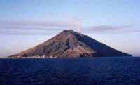 Volcano experts monitoring Stromboli off Sicily as lava pours down slopes to sea