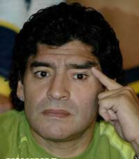 Maradona showing marked signs of improvement