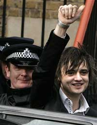 Rocker Pete Doherty given court warning: quit drugs or face jail
