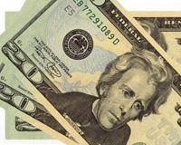 Twenty dollar bills, gifts of heaven and Goldman Sachs