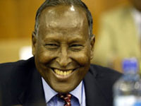Somali president catches cold