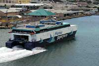 Hawaii Superferry trip canceled because of choppy sea