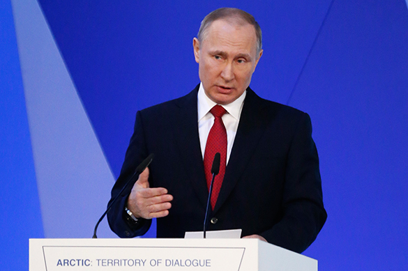 Putin wants Russia and USA to be best friends in the world, excludes enmity. 60110.jpeg