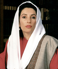 Terrorist act against Benazir Bhutto most likely performed by al-Qaida or Taliban bombers