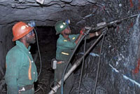 South African miners stage strike over safety