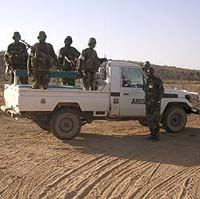 African peacemakers arrive in Somalia unannounced