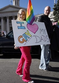 In Washington Tens of Thousands March for Gay Rights