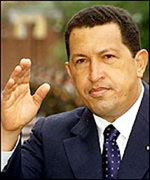 Venezuela's Chavez brushes aside U.S. ban on arms sales