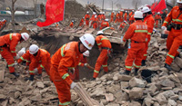 Reconstruction Begins in China's Quake-Stricken Area