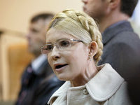 Yulia Tymoshenko allowed to meet her associates. 48115.jpeg