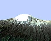 Mountain glaciers in equatorial Africa expected to disappear