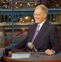 Back on TV: Letterman makes terms with striking writers