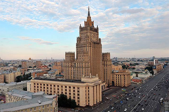 Russian Foreign Ministry works on retaliatory measures against USA. 61117.jpeg