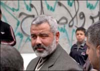 Hamas prime minister says he will not head a government that recognizes Israel