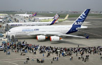 US debute of Airbus A380 jumbo jet to include landing at LA airport