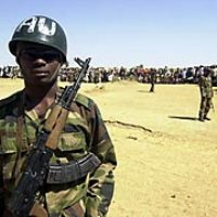 Remote-controlled land mine targets African Union peacekeepers in Somalia