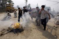 Landslide in northern China kills 258