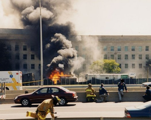 FBI shows photos of Pentagon after 9/11 attack. 60121.jpeg