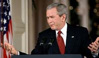 Bush urges Congress to give Iraq policy a chance, but Democrats aren't buying it