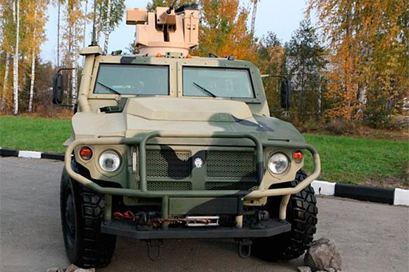 Russian Tigr armoured vehicles to enter Egypt. Tigr