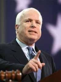 Anti-Russian Senator John McCain plans to bid for US presidency