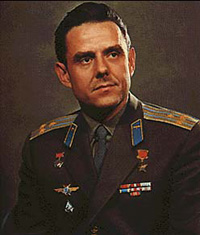 Soviet cosmonaut Vladimir Komarov became first victim of space race between USA and USSR