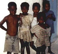 Haitian Kids Attract Both Criminals and Saviours
