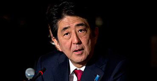 Japan demands Russia's return to G8. Shinzo Abe
