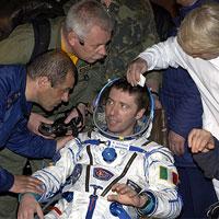 Italian Austronaut ISS