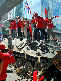 """Red shirts"" wish to avoid confrontation with Thai army"