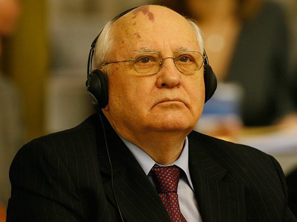 Mikhail Gorbachev accuses Western leaders of showing disrespect to victims of fascism. Mikhail Gorbachev