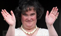 Susan Boyle offered one million dollars to get something cracking