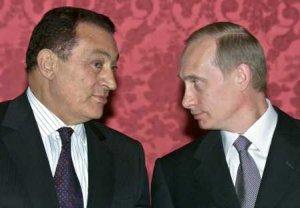 Putin Mubarak