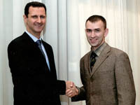 Bashar Assad: 'They want to overthrow me for my friendship with Russia'. 46132.jpeg