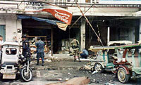 Explosion kills 8 people in Philippines