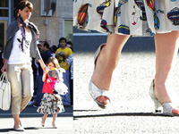 Suri Chooses High Heels after her Mother Katie Holmes