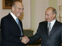 Meeting between Putin and Israel's Olmert shrouded in mystery