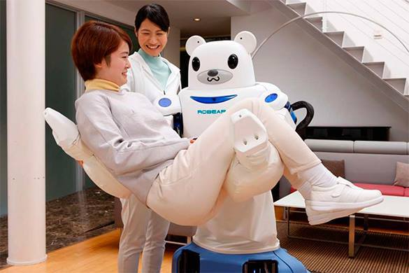 Japanese robotic bear to assist in suicide. SeppuKuma