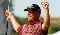 Brisk north breeze is not handicap for round of golf