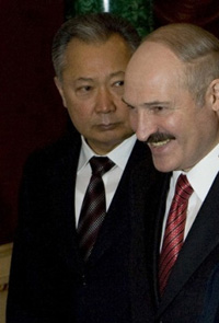 Lukashenko planned to give asylum to Bakiev