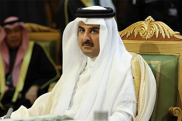 Qatar looks for its place in Syrian power balance. Emir of Qatar
