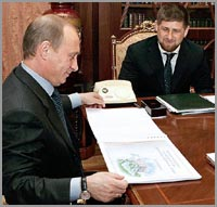 Putin nominates feared Ramzan Kadyrov president of Chechnya