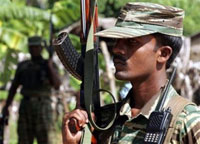 Sri Lankan Civil war:five rebels killed