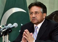 Pakistani president Gen. Pervez Musharraf  accuses opponents of conspiration