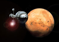 Mars Nears Earth in Favorable Opposition