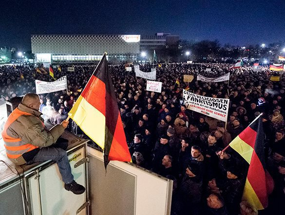 Germany declines, loses European identity for the sake of Islam. Muslims in Germany