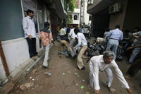 Gunbattle erupts in India's capital